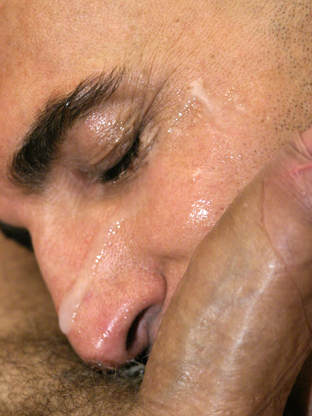 Gay Cum Facials : Bruno!