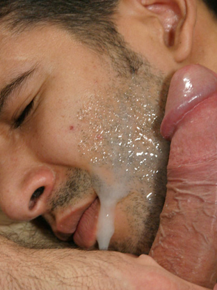 Gay Cum Facials : Roger!