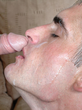 Gay Cum Facials : Blake!