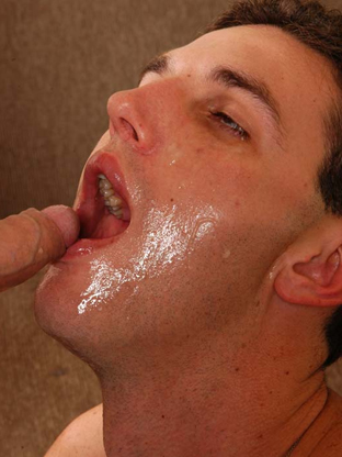Gay Cum Facials : Jeremy!