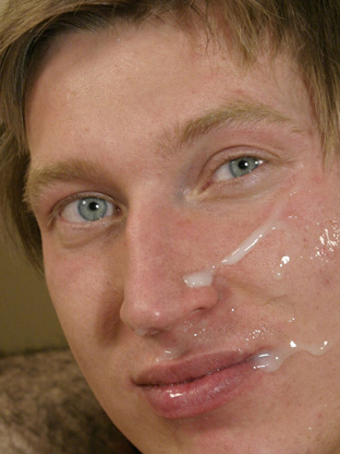 Gay Cum Facials : Aiden!