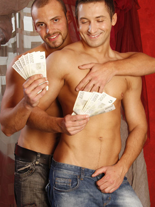 Gay Muscle Men : Nicolas Bee!