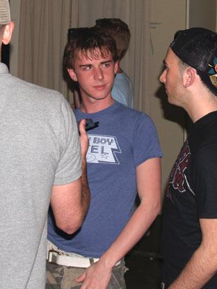 gay hotel party
